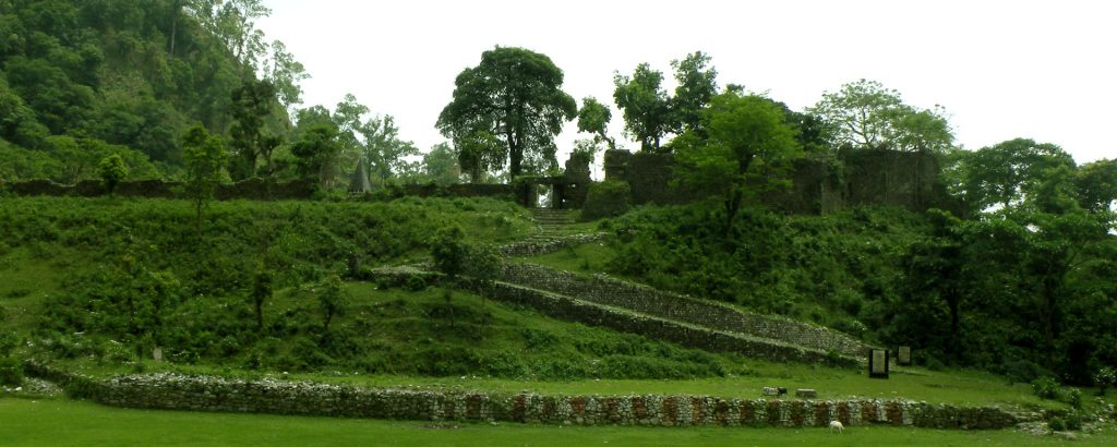 Ruins of Buxa Fort
