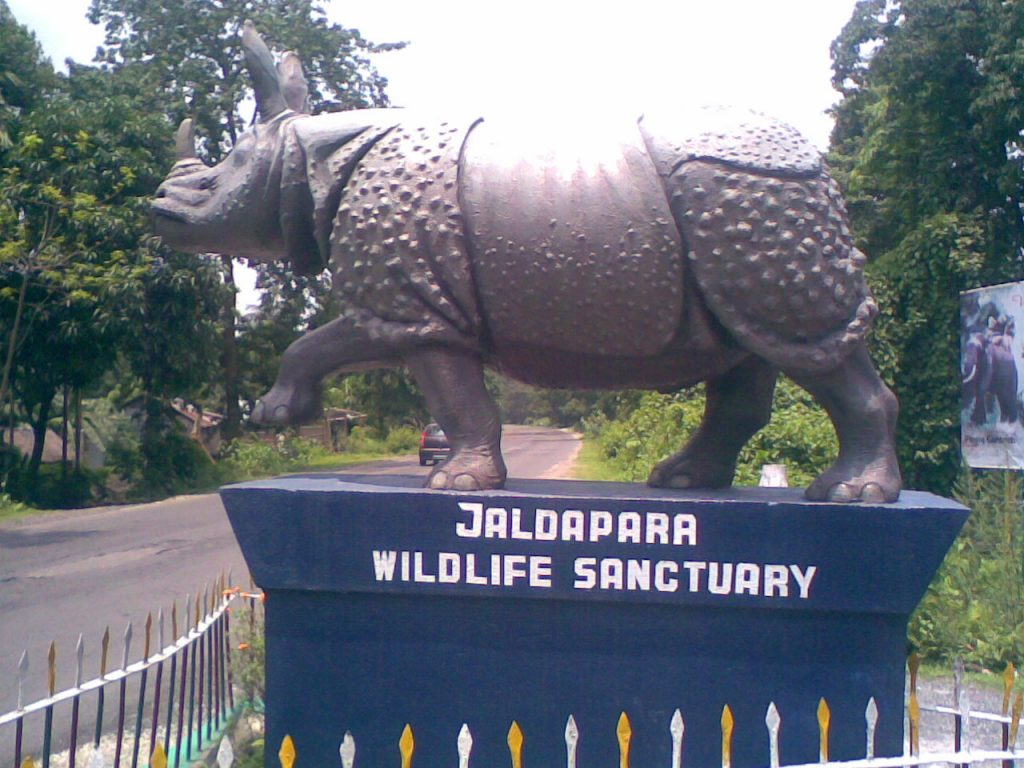 The main gate of Jaldapara