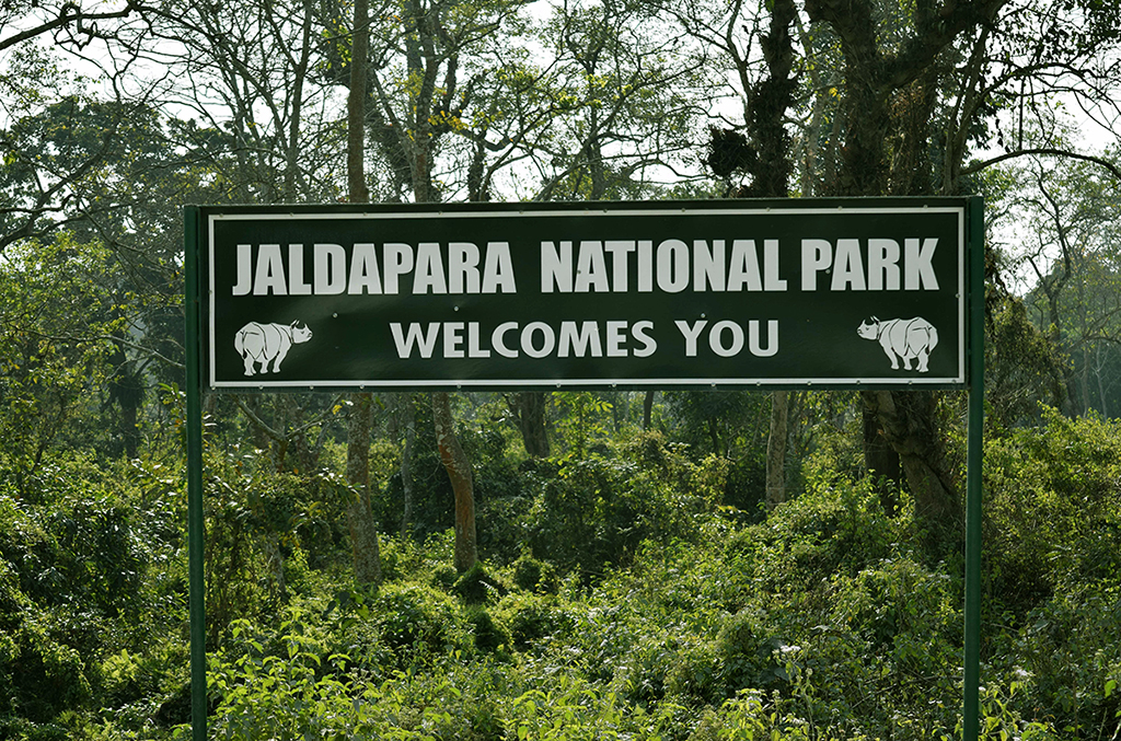 The main entrance of Jaldapara National Park