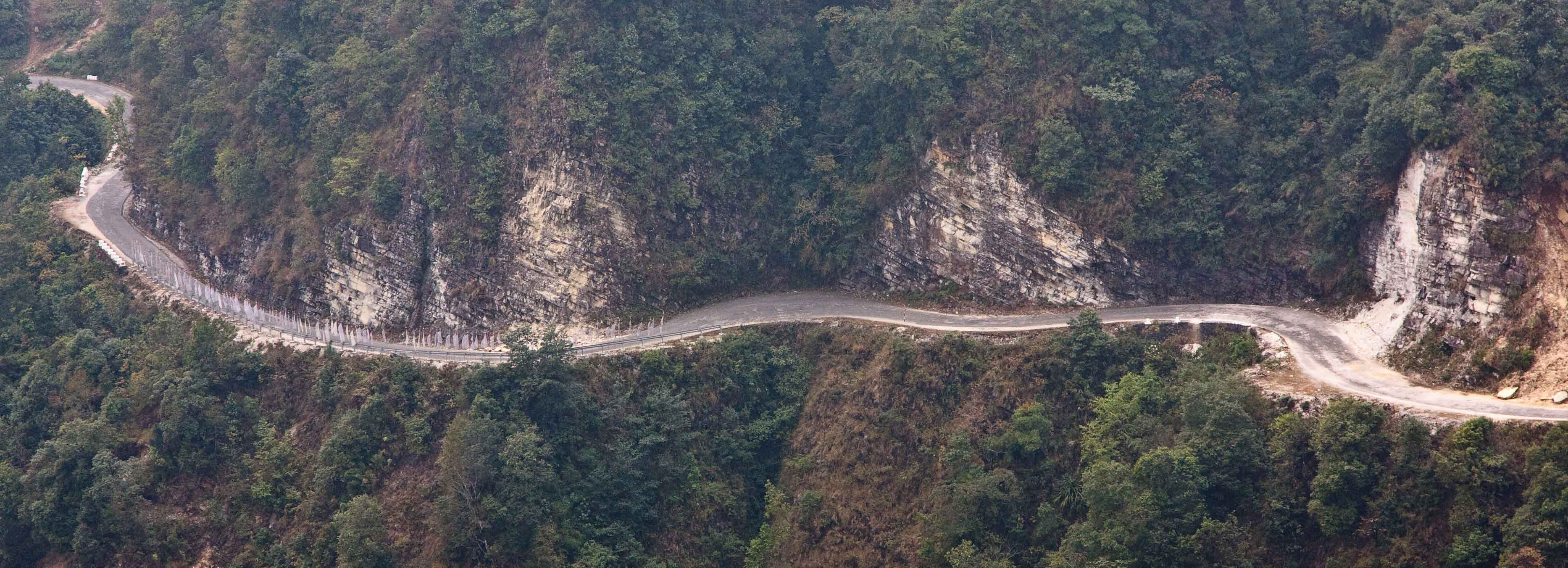 The rugged roads of Bhutan