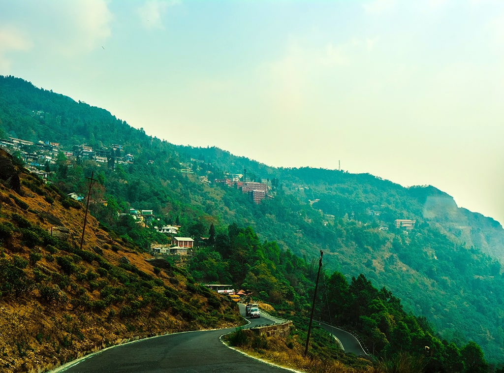 Rohini Road en route Darjeeling