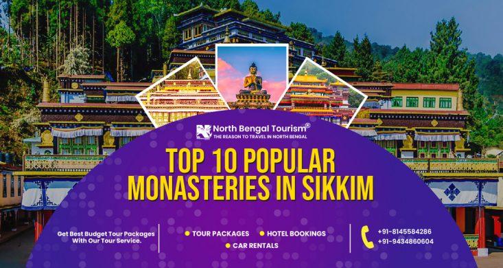 Monasteries in Sikkim