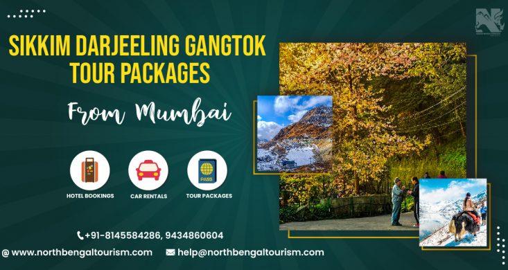 Sikkim Darjeeling Gangtok Tour Package From Mumbai