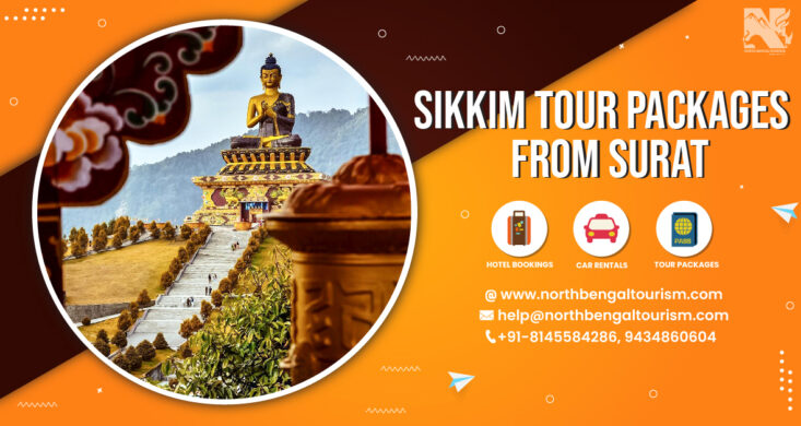 sikkim tour packages from surat