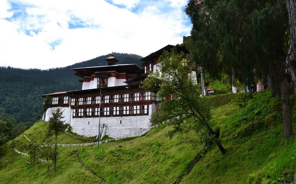 Image result for cheri monastery in Bhutan
