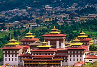 Thimpu the Capital of Bhutan