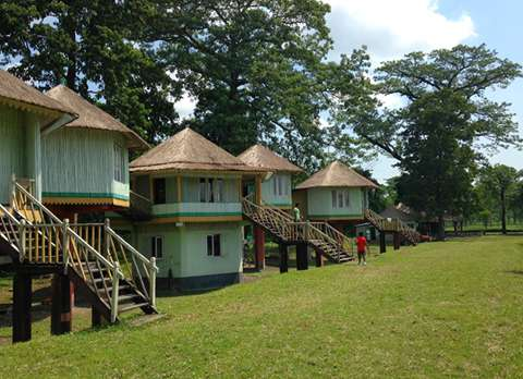 Exterior View of Gorumara Eco-Village Kalipur
