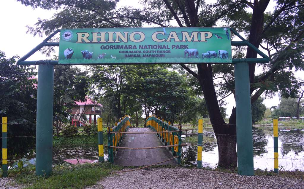Gorumara Rhino Camp Entrance