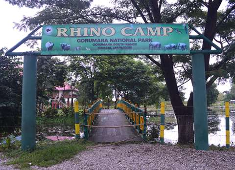Cottages at Gorumara Rhino Camp Entrance