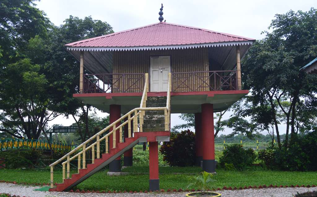 Exterior of Rhino Camp, Gorumara
