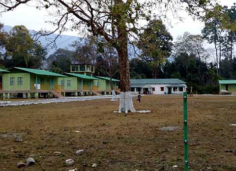Cottages at Jayanti Tourist Lodge