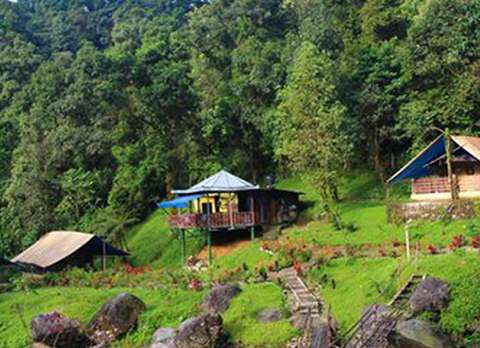 Beautiful Landscape view at Suntalekhola River Camp