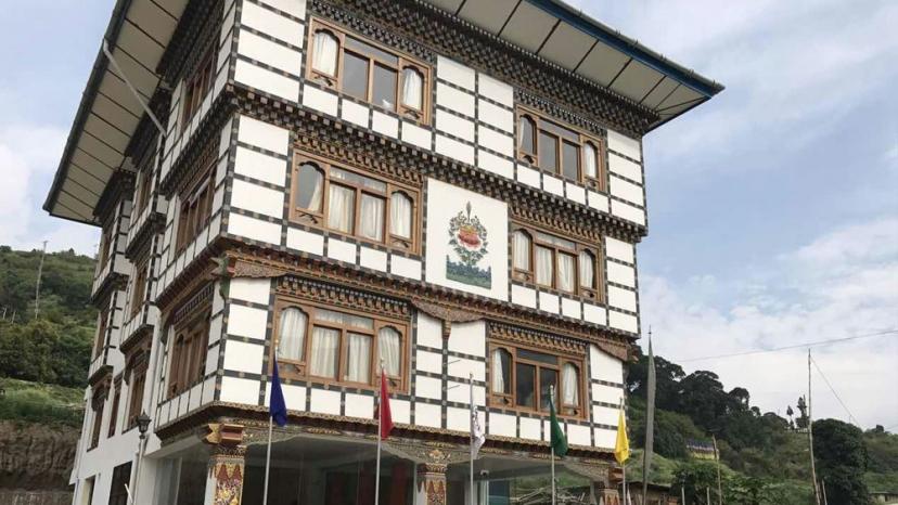 Резултат с изображение за punakha residency bhutan
