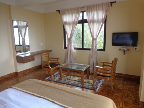 Book Non-AC SUPERIOR DELUXE ROOMS at Pine Haven Resorts, Darjeeling