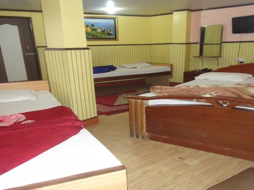 Book Non-AC SUPER DELUXE FOUR BED at Hotel Sweet Home, Darjeeling