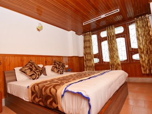 Book Non-AC Super Deluxe Double Bedded Room at Prism Residency, Sikkim