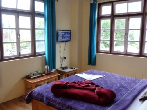 DELUXE Ground Floor Double Bed  Non-AC Room