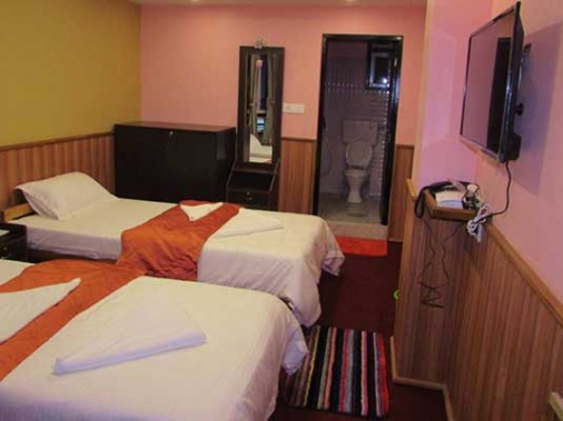 Book Non-AC Deluxe Room  at Lookboong Hotel, Sikkim