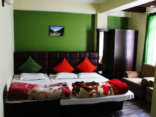 Book Non-AC Super Deluxe Room  at Hotel Misty Oak, Sikkim