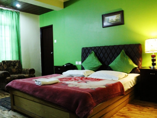 Book Non-AC Deluxe Room  at Hotel Misty Oak, Sikkim