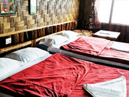 Book Non-AC Lali Gurans or Rodhodendron at Hilltop Rabong Resort, Sikkim